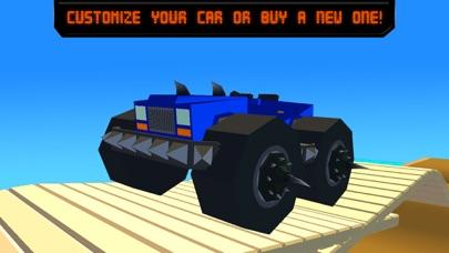 Pixel Car Fighting Arena 3D screenshot four