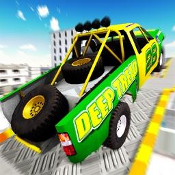 Monster Trucks Legend Stunts Sim 3D - Offroad Derby Real 4x4 Trucks Stunts Game