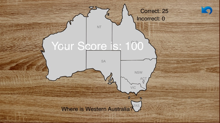 Australia Map Master Lite - audio learning, puzzle game and test