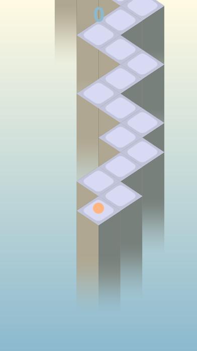 Zig Zag Way - Endless Wall, God Road screenshot three