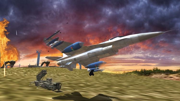F16 Jet Air Battle Dogfight screenshot-4
