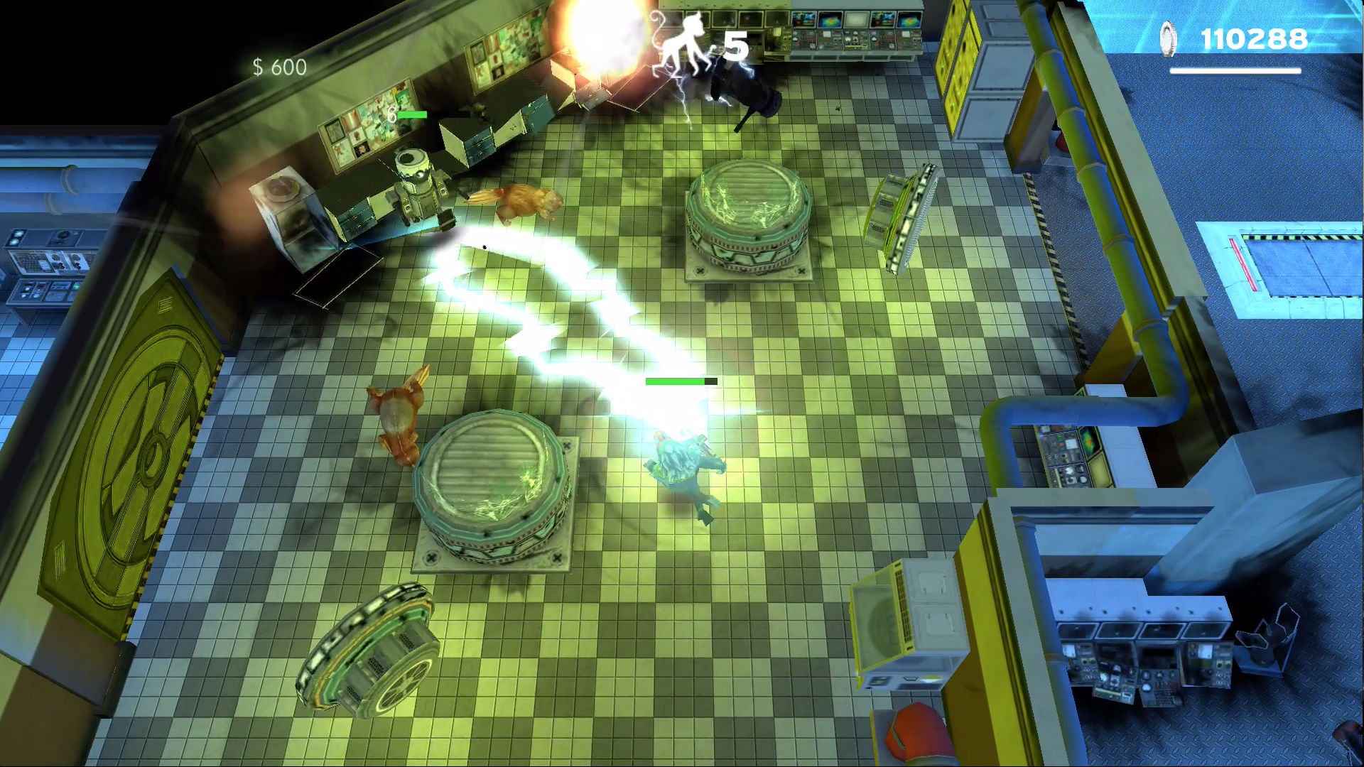 Time Monkeys - Arcade Shooter screenshot 3