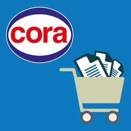 Cora, liste de courses et prospectus