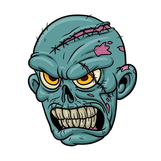 Zombie Stickers by Cartoon Smart