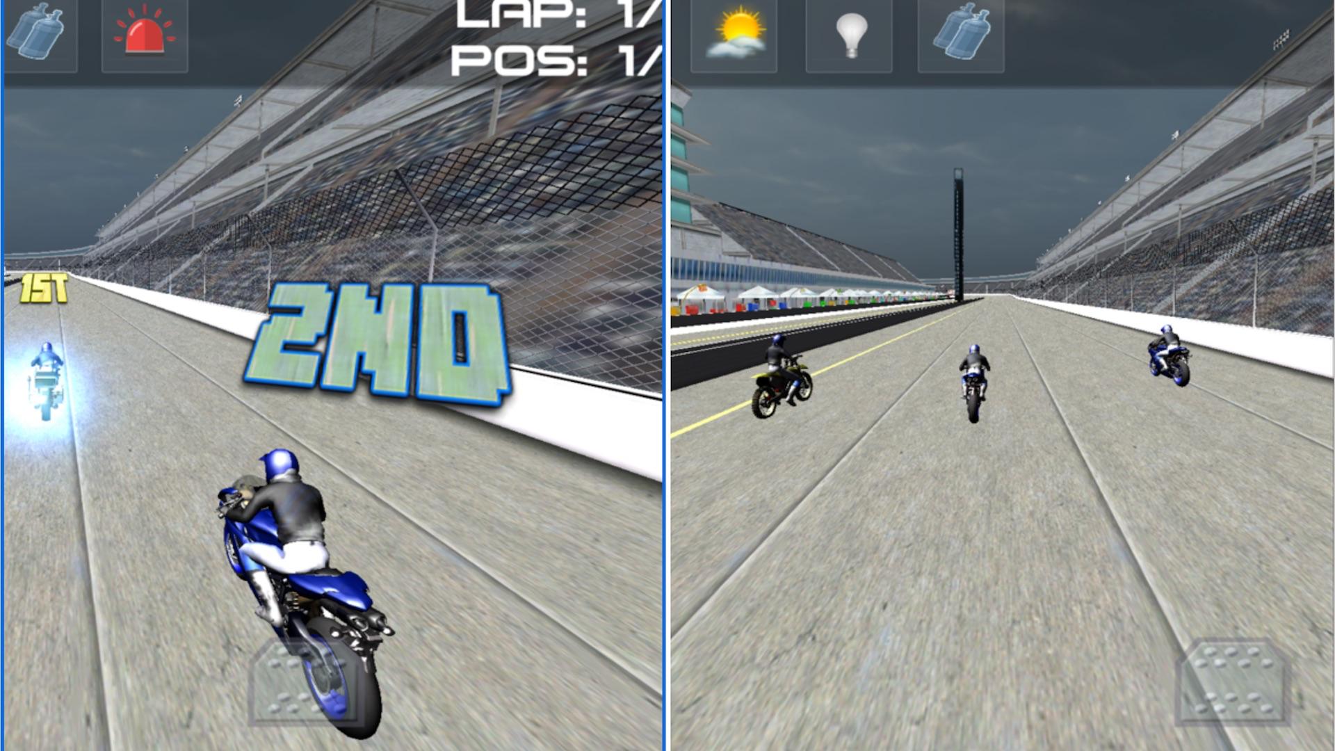 Moto Bike Racer : 3D Motorbikers Heated Chase Fun screenshot 11