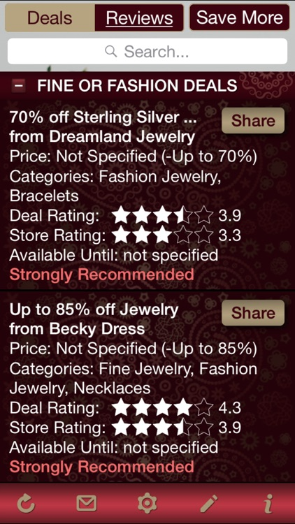 Jewelry Deals & Jewelry Store Reviews
