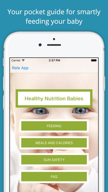 Healthy Nutrition Guide Babies Pro