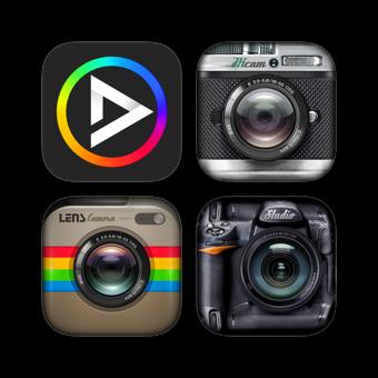 Photo Collage Mix Bundle - Best Photo Editor & Layout & Sticker & Amazing Camera 500