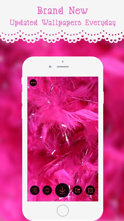 Stylish Pink Live Wallpapers & Backgrounds – HD quality Girly Theme Lock Screen Wallpaper screenshot-3