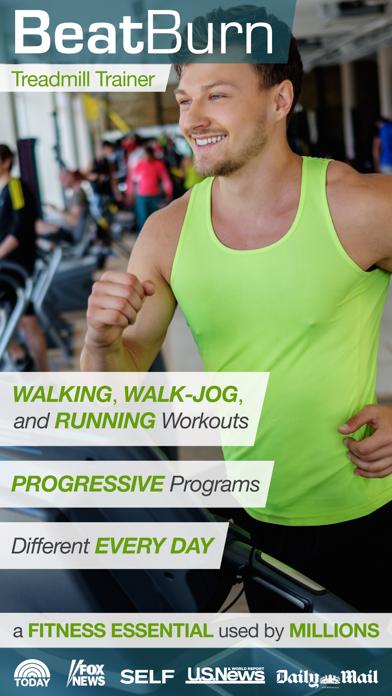BeatBurn Treadmill Trainer - Walking, Running, and Jogging Workoutsのおすすめ画像1