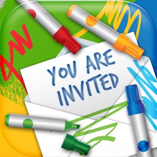 Baixar Cartões de convite design – Criar e-card para festas de aniversário e casamentos para iOS