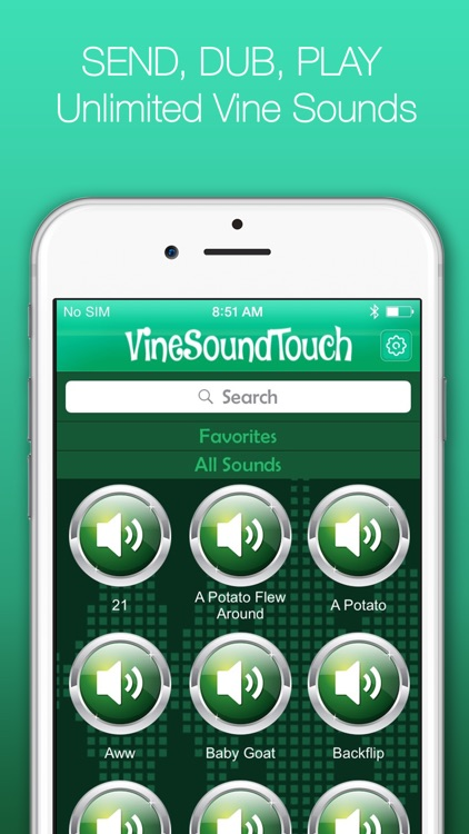 #1 Sound Board for Vine - Play, Send & Dub