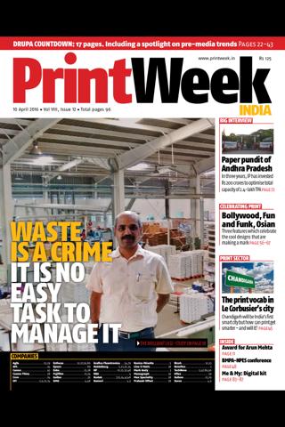 PrintWeek India - náhled