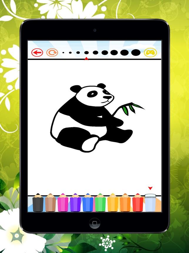 Panda Bear Boyama Kitabi Cocuklar Icin Panda Koala Ve Polar Bear