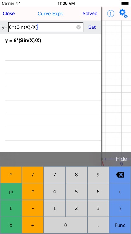 Curve Plotter Lite : graphing calculator made easy