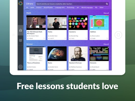 Tes Teach With Blendspace Apprecs