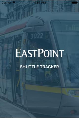 EastPoint Shuttle Tracker - náhled