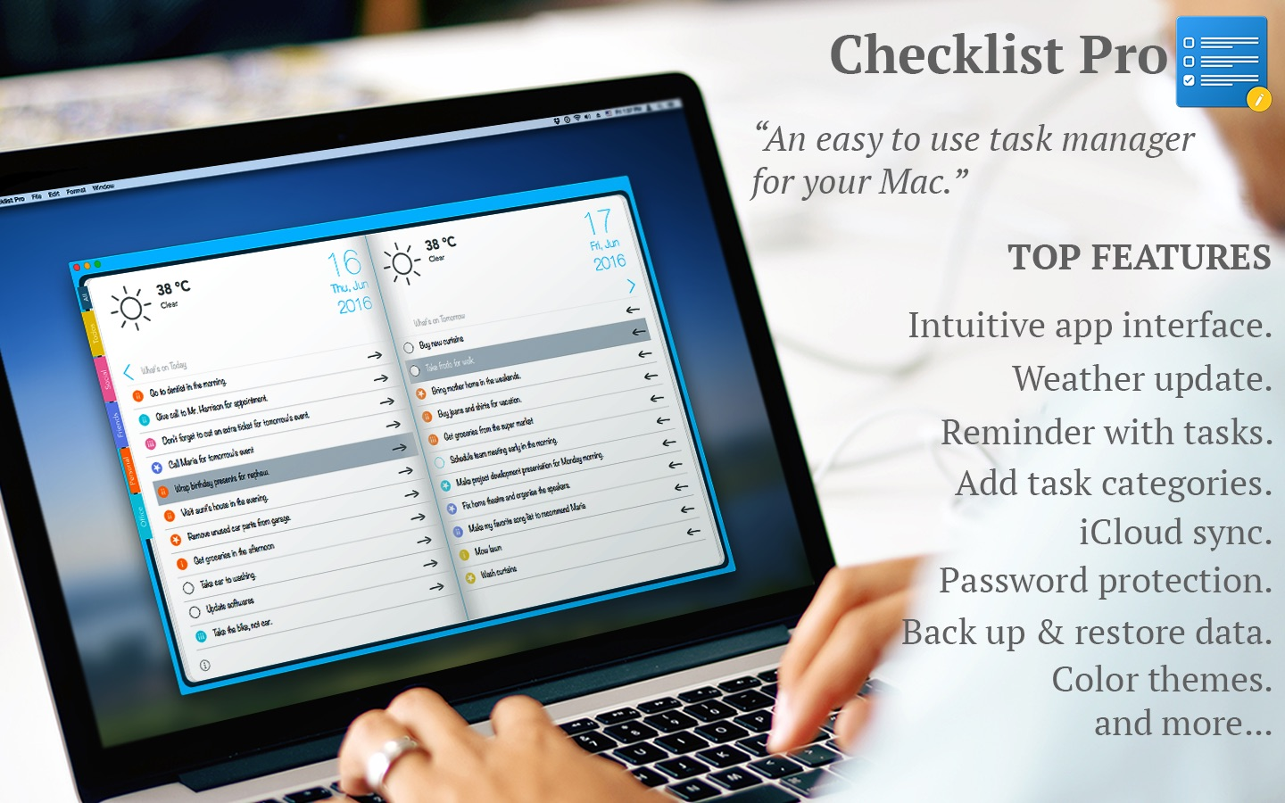 ‎Checklist Pro - ToDo, Tasks on the Mac App Store