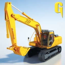 Sand Excavator – Heavy Duty Digger machine Construction Crane Dump Truck Loader 3D Simulator Game