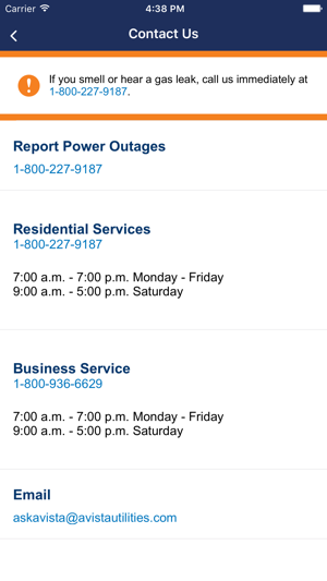 Avista Outage Mobile App On The App Store