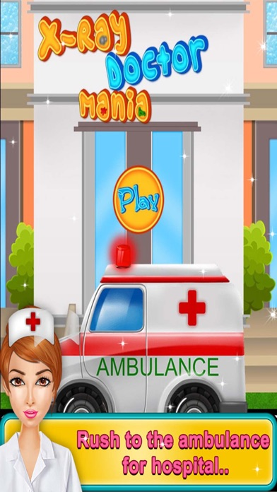 X-ray Doctor Mania - Kids game for fun