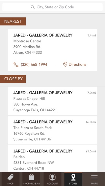 Jared The Galleria Of Jewelry screenshot-3