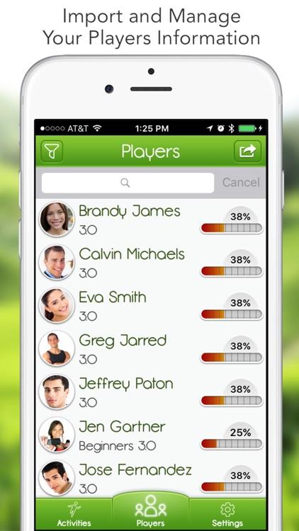iGrade for Tennis Coach screenshot-0