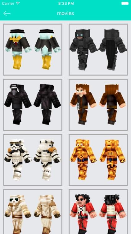 Skins for Minecraft PE - Best Boys & Girls Skins