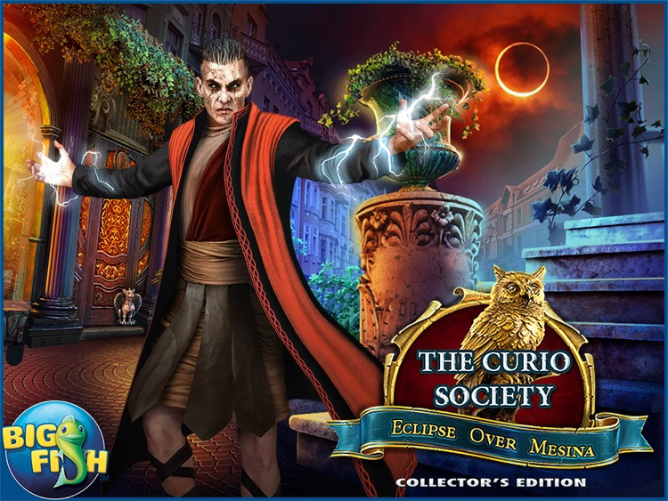 The Curio Society: Eclipse over Mesina HD - A Hidden Object Mystery (Full) screenshot-4