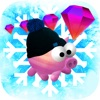 Lil Piggy Winter Edition Free - Your Super Awesome Adorable Animal Runner Game
