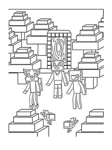 Stampy Cat Coloring Book: (Unofficial) Minecraft Coloring ...