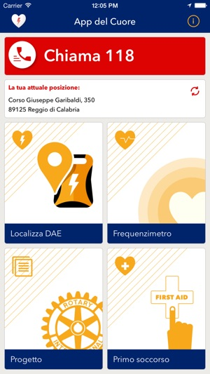 App del Cuore Screenshot