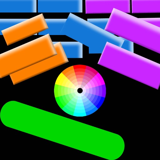 Broken Color Bricks - Most Awesome Breakout Game Of World