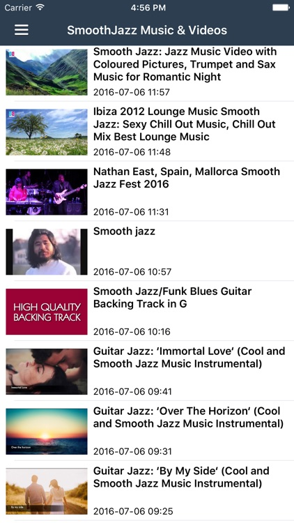 Jazz Music Pro - Smooth Jazz Radio, Songs & Artists News screenshot-3