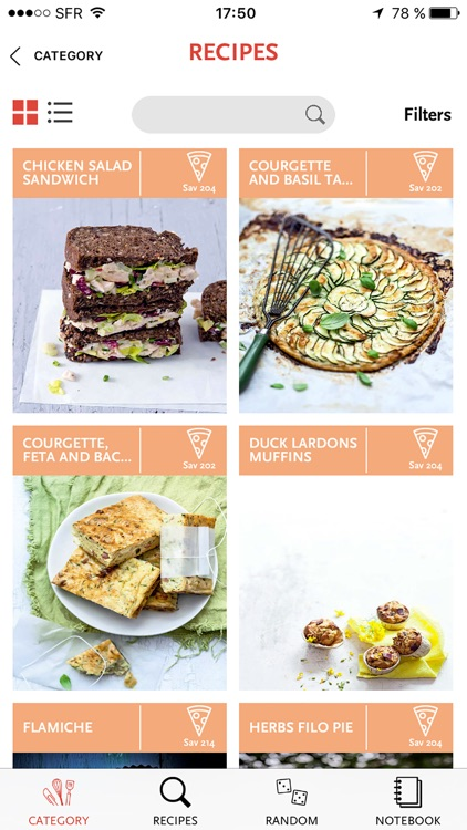 SAVEURS, 1,200 French recipes for gourmets and foodies
