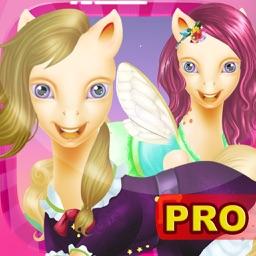 Princess Pony DressUp (Pro) - Little Pets Friendship Equestrian Pony Pet Edition - Girls Game