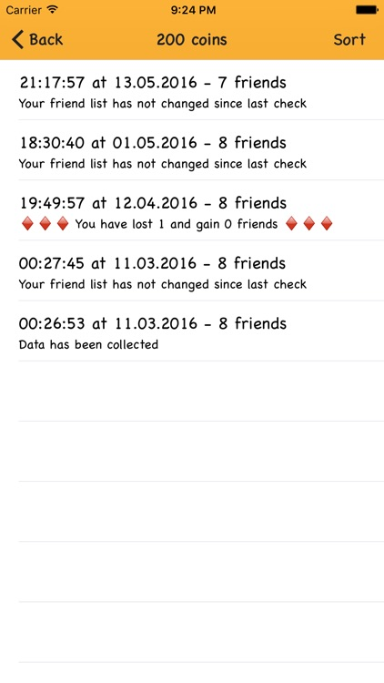 Friends Tracker for Facebook - Check if someone unfriended or added you on Facebook screenshot-4