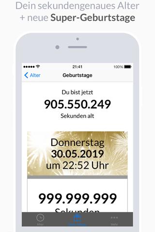AgeApp screenshot 2