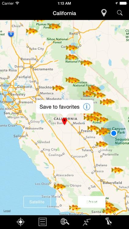 California: Lakes and Fishes screenshot-4