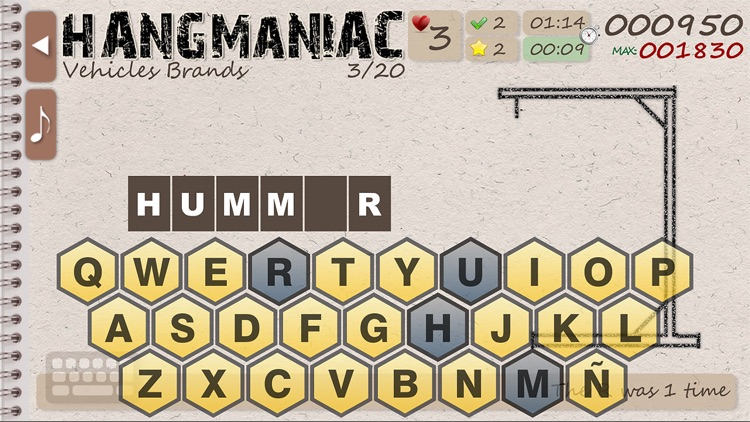 Hangmaniac LITE screenshot-3