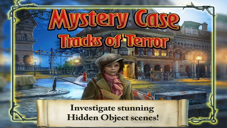 Mystery Case: Tracks of Terror Free screenshot-1
