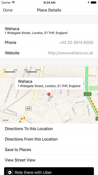 Screenshot for My Maps for Google Maps™ and Uber in United States App Store
