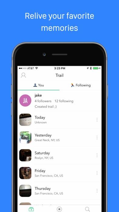 Trail Camera - your video life story Screenshot