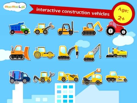 建設車両 -  子供のためのゲーム, アクティビティ、お絵かきのおすすめ画像1