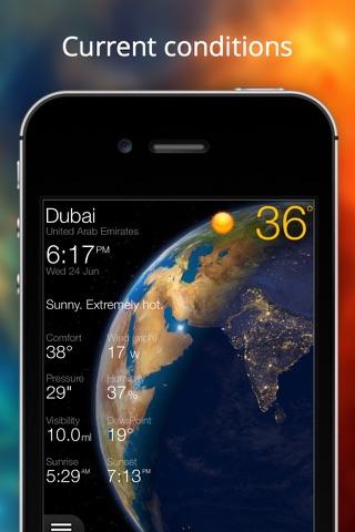 Скриншот из Weather Now - iPhone Forecast