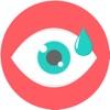 目薬タイマー 〜点眼後は数分間目頭を押さえましょう〜