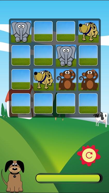 Animal Pairs - Match Animals