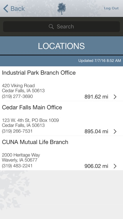 Cedar Falls Community Credit Union Mobile App screenshot-3
