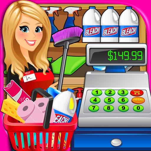 Supermarket: Department Store & Drugstore Simulator - Kids Cash Register Shopping Games FREE