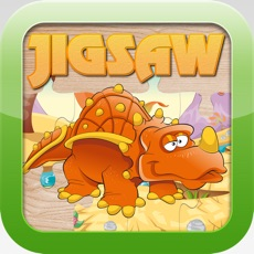Activities of Dinosaur Jigsaw Puzzles – Learning Games Free for Kids Toddler and Preschool
